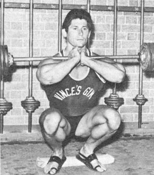 Don Howorth Front Squat