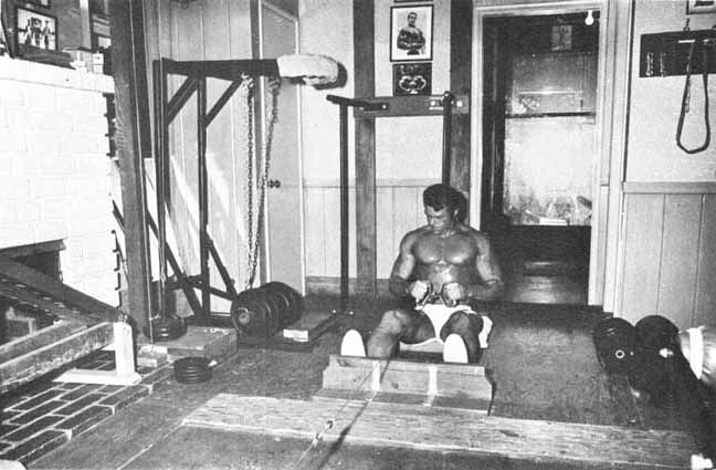 Don Peters Home Gym