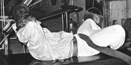 Vince Gironda's Cloak And Dagger Abdominal Exercise